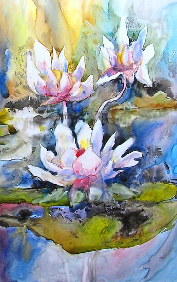 Pond Lilies by bevmorgan