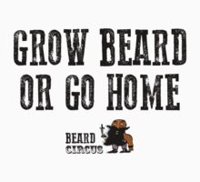 Grow Beard or Go Home by mijumi
