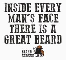 Inside Every Man's Face There Is A Great Beard by mijumi