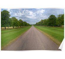 Long Walk Windsor Poster