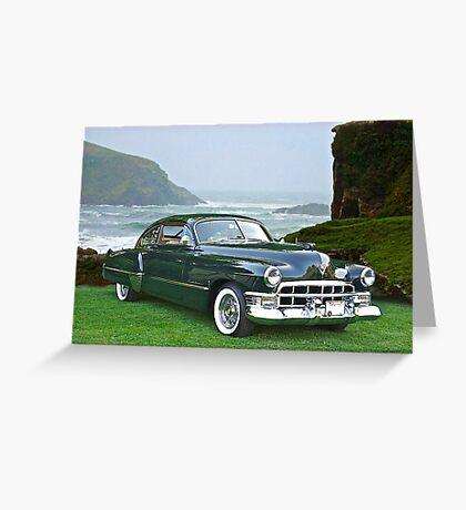 1949 Cadillac 6107 Sedanette III Greeting Card
