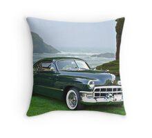 1949 Cadillac 6107 Sedanette III Throw Pillow