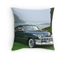 1949 Cadillac 6107 Sedanette III Throw Pillow