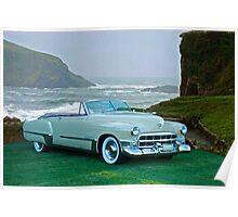 1949 Cadillac 62 Convertible Poster
