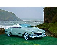 1949 Cadillac 62 Convertible Photographic Print