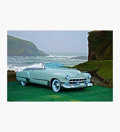 1949 Cadillac 62 Convertible Photographic Print