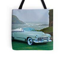 1949 Cadillac 62 Convertible Tote Bag