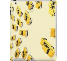 22 Yellow Taxis iPad Case/Skin