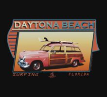 DAYTONA BEACH FLORIDA SURFING by Larry Butterworth