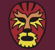 Tiger Wrestling Mask by dukepope