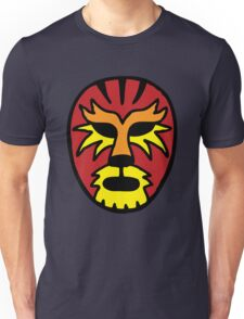 Tiger Wrestling Mask Unisex T-Shirt