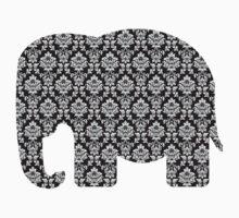 Damask Elephant Kids Clothes