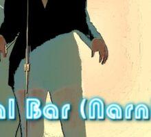Val Bar (Narnia) flyer Sticker
