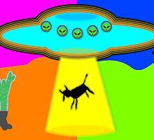 Alien Abduction by Almdrs