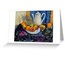 A La Matisse Greeting Card