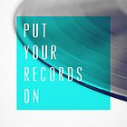 Records [Blue] by GalaxyEyes