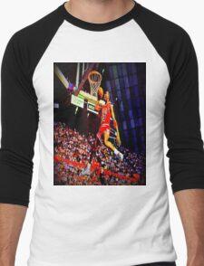 MJ DUNK Men's Baseball ¾ T-Shirt