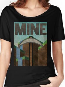 Minecraft MINE Women's Relaxed Fit T-Shirt