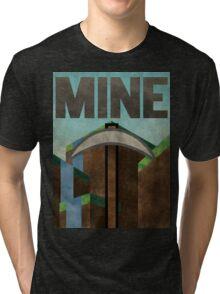 Minecraft MINE Tri-blend T-Shirt