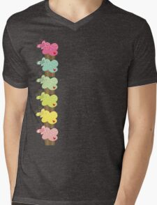 Sweet Pastel Cupcakes Mens V-Neck T-Shirt