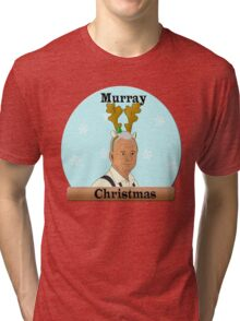 Murray Christmas Tri-blend T-Shirt