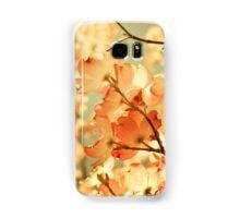 Vintage Pink Spring Flowers Samsung Galaxy Case/Skin