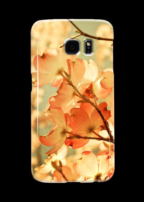 Vintage Pink Spring Flowers by Olivia Joy StClaire