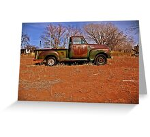 1954 Chevrolet pickup - Ft Sumner NM Greeting Card