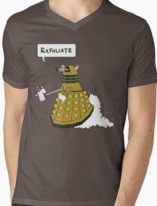 EXFOLIATE Dalek Mens V-Neck T-Shirt
