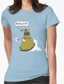 EXFOLIATE Dalek Womens Fitted T-Shirt