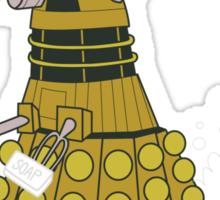 EXFOLIATE Dalek Sticker