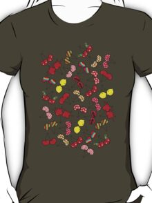 Cheeky Cherries Pattern T-Shirt