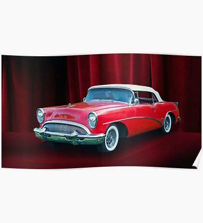 1954 Buick Skylark Convertible Poster