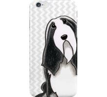 Bearded Collie Sit Pretty iPhone Case/Skin