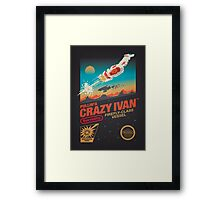 Crazy Ivan Framed Print