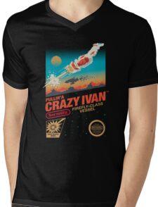 Crazy Ivan Mens V-Neck T-Shirt