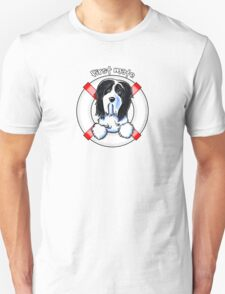 Bearded Collie :: First Mate Unisex T-Shirt