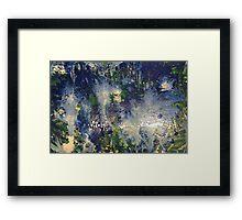 Flood Framed Print
