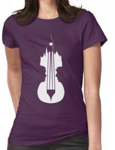 Sherlock's Violin Womens Fitted T-Shirt