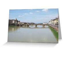 Florence (Firenze) Italy Greeting Card