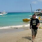 Jamaica Sun, Sea, Sky And Son Steve by lynn carter