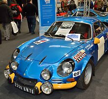 Alpine A110 2338 GW 76 by Willie Jackson
