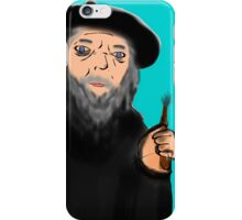 gandalf the painter iPhone Case/Skin