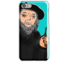 gandalf the painter iPhone Case/Skin