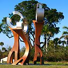 Sculptures in Fort Pierce, Florida by BCallahan