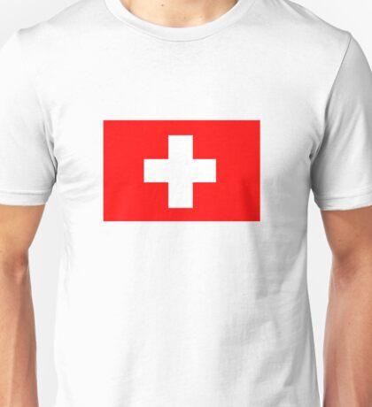 Flag of Switzerland Unisex T-Shirt