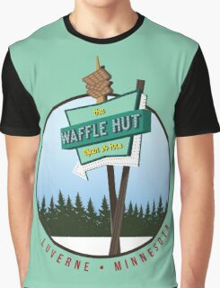 Waffle Hut - Luverne, Minnesota (FARGO) Graphic T-Shirt