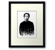 DARK COMEDIANS: Will Ferrell Framed Print