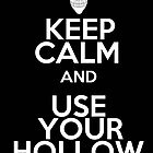 keep calm and use your hollow mask by yanting