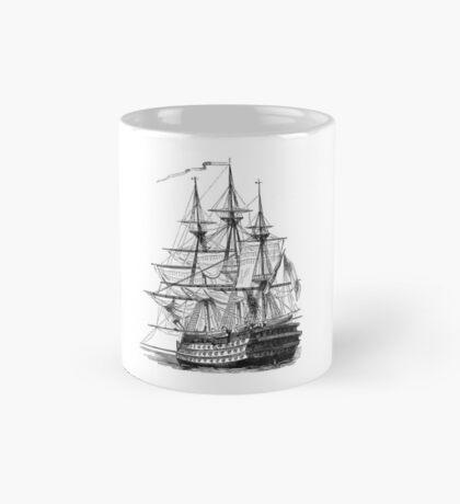 HMS Ship of the Line Mug